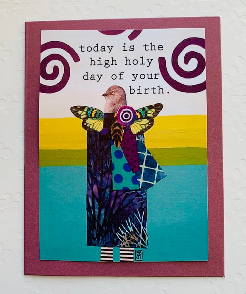 Notecard High Holy Day Of Your Birth