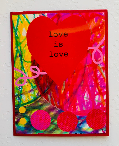 Notecard Love is Love