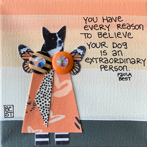 You have every reason to believe your dog is an extraordinary person.