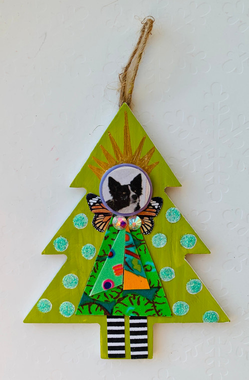 tree ornament dog 2