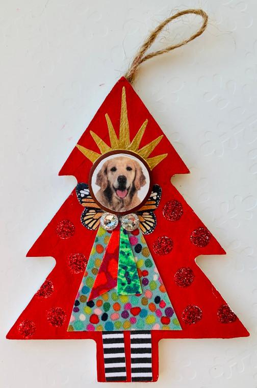 tree ornament dog 1