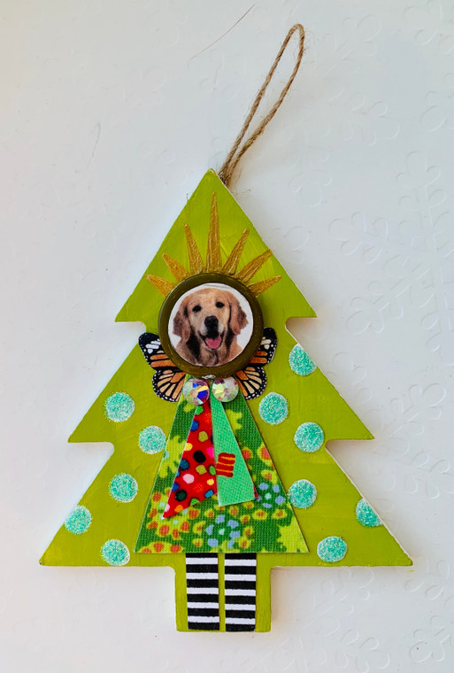 tree ornament dog 5