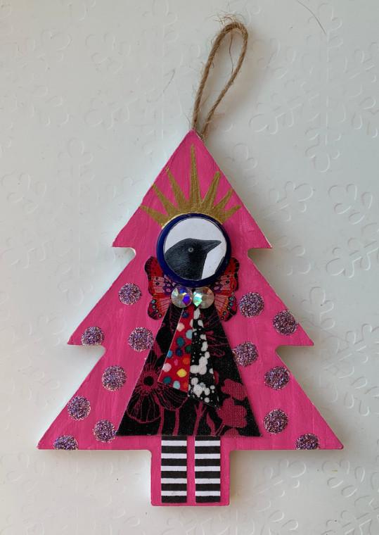 tree ornament bird 3