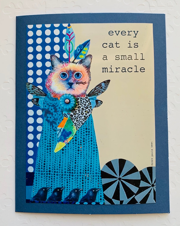 Notecard Raven Small Miracle