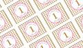 Gold Stars Personalised Birthday Mini Chocolates