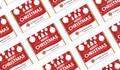 Corporate Personalised Christmas Mini Chocolates