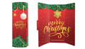 Red Festive Christmas Chocolate Greeting Card