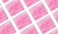 Pink Ombre Wedding Personalised Mini Chocolates