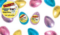 Dabbing Bunny Personalised Chocolate Half Easter Eggs