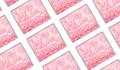 Pink Glitter Birthday Personalised Mini Chocolates