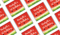 Watermelon Party Birthday Personalised Mini Chocolates