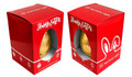 Corporate Personalised Easter Egg Box In Red