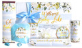 Welcome Baby Blue Personalised Hamper Care Pack