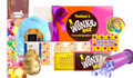 Actual contents of Wonka Box Care Pack Personalised Hamper