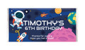 Astronaut Personalised Birthday Party Pack