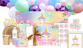 Unicorn Birthday Personalised Party Pack
