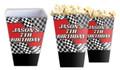 Racing Car Personalised Popcorn Boxes