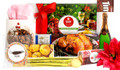Actual contents of Christmas Dinner Personalised Chocolate Hamper