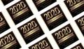 Golden Numbers Personalised Graduation Mini Chocolates