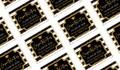 Confetti Stripe Personalised Graduation Mini Chocolates