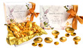 Watercolour Easter Personalised Gold Chocolate Egg Hamper