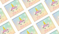 Sparkle Unicorn Birthday Personalised Mini Chocolates