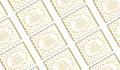 Gold Polkadot Personalised Hens Night Mini Chocolates