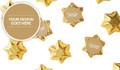 Use Your Own Design Foil Covered Chocolate Stars