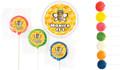 2.5cm Customised Mini Lollipops (Choice Of Colours)