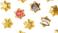 Gold Chocolate Stars Personalised