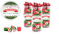 Branches & Banner Personalised Christmas Rock Candy Tube