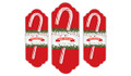 Branches And Banner Personalised Candy Cane Card