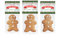Branches And Banner Gingerbread Man With Custom Topper