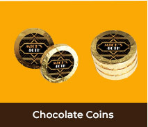 Gold Chocolate Coins For Adult Birthdays