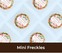 Personalised Christening Mini Freckles