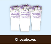 Personalised Chocaboxes For First Holy Communions