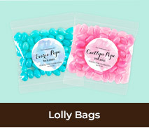 Personalised Lolly Bags For Confirmations
