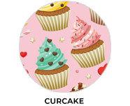 Cupcake Theme Personalised Birthday Favours