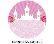 Princess Castle Birthday Theme Custom Favours
