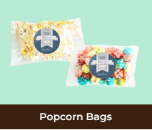 Personalised Popcorn Bags For Graduations