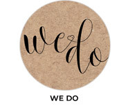 We Do Theme Wedding Favours