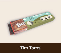 Welcome Back Personalised Packs Of Tim Tams