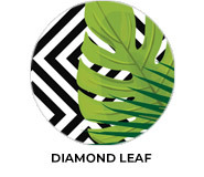 Diamond Leaf Birthday Party Favours