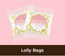 Personalised Lolly Bags For Bridal Showers