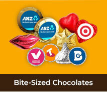 Bite-Sized Corporate Chocolates