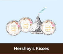 Custom Hershey's Kisses For First Holy Communions