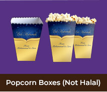 Personalised Popcorn Boxes For Eid