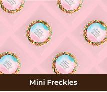 Personalised Gender Reveal Mini Freckles