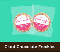 International Nurses Day Giant Chocolate Freckles