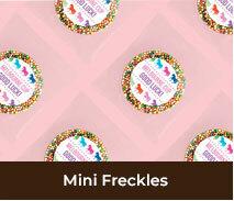 Custom Spring Racing Carnival Mini Freckles